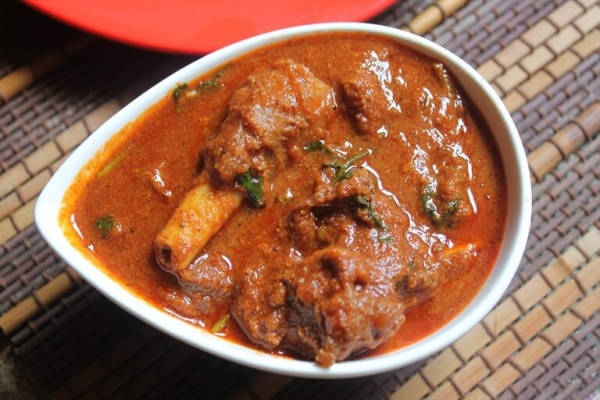 Lamb Curry On Bone