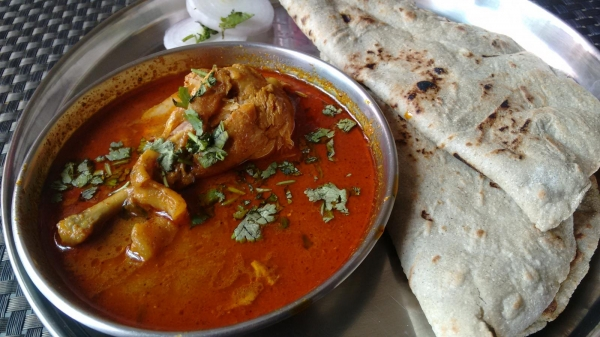 Chicken Curry With  2 Roti