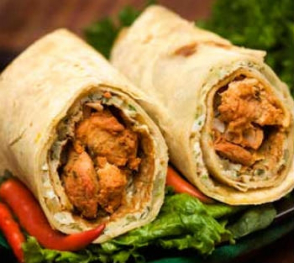 Chicken Roti Roll