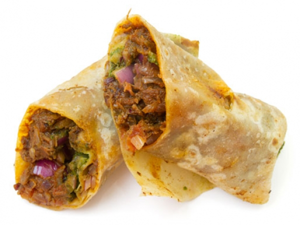 Mutton Roti Roll