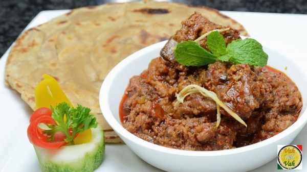 Lamb Curry With  2 Roti